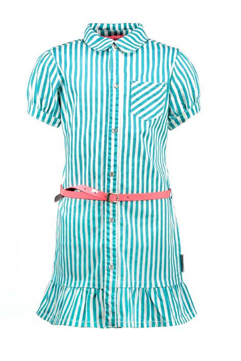 B.Nosy meiden denim jurk strepen