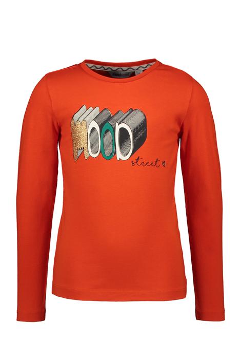 Moodstreet meiden shirt oranje