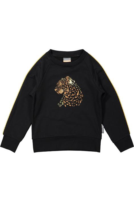 Vinrose meiden sweater zwart
